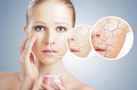 Cauze frecvente ale pielii uscate